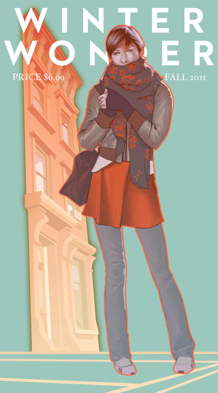 Scarf Illustration
